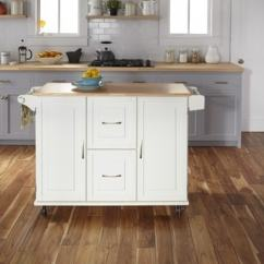 Home Styles Kitchen Cart Tables Cheap Buy Carts Online At Overstock Com Our Best Dolly Madison White Wood Prep And Serve