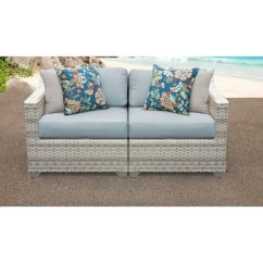 Fairmont Sofa Laura Ashley Dining Room Table Shop 2 Piece Outdoor Wicker Patio Furniture Set 02a Free