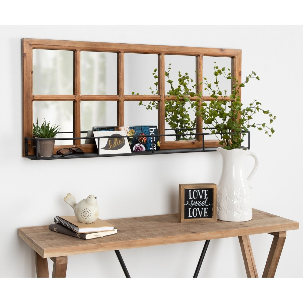 rustic mirrors shop online at overstock
