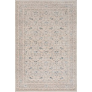 "Colonial Home Vintage Oriental Damask Area Rug - 5'3"" x 7'6"""