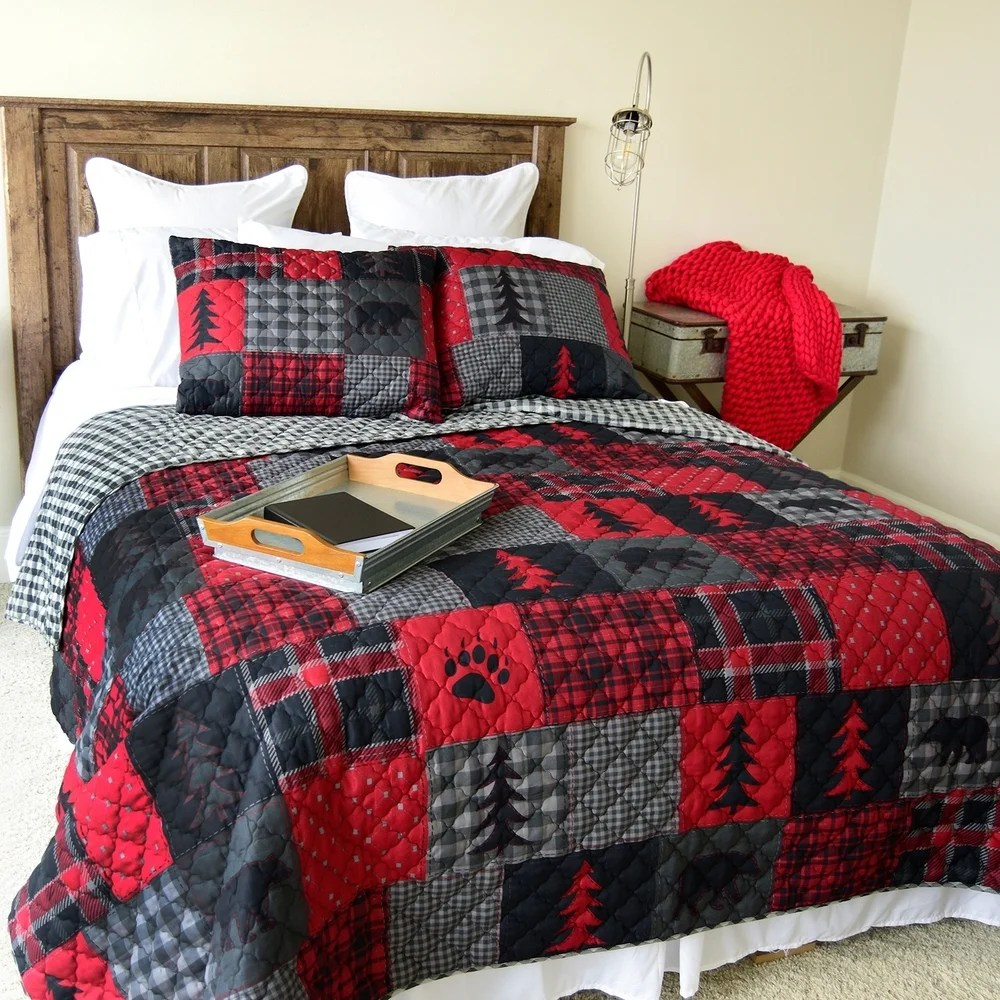 red quilts coverlets find great
