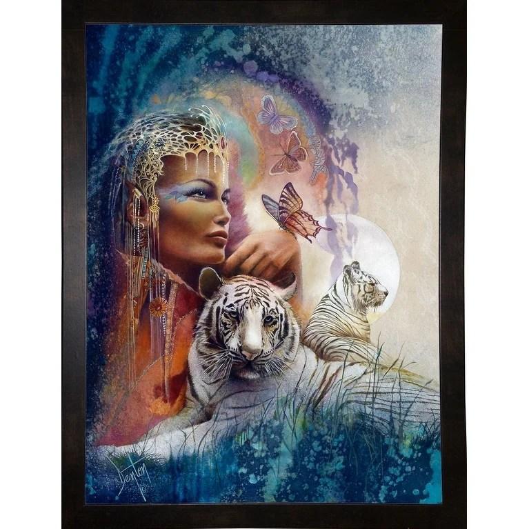 "Empress-DENLUN14858  Print 7""x5.25"" by Denton Lund"