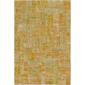 Hand Knotted Ultra Vintage Wool Area Rug - 7' x 10' 4