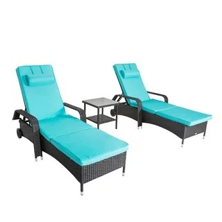 lounge outdoor chairs summer deck buy chaise lounges online at overstock com our best patio furniture deals