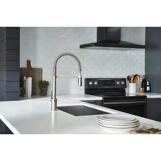 kitchen faucets cheap best gadgets ever buy moen online at overstock com our align motionsense wave pulldown faucet 5923ewsrs spot resist stainless