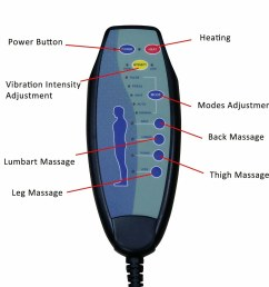 shop kinbor 8 motor massage chair recliner w ottoman lumbar heat free shipping today overstock 24151673 [ 1500 x 1500 Pixel ]