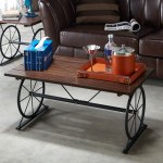 Shop Black Friday Deals On Strick Bolton Gavin Industrial Wheel Coffee Table On Sale Overstock 24216134