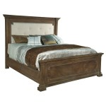 Hekman Furniture Turtle Creek Vintage Rustic California King Upholstered Bed Frame With Headboard Footboard Overstock 24230291