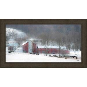 Miller's Farm Framed Canvas Wall Art