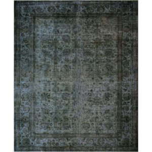 Noori Rug Emmie Grey/Brown Distressed Overdyed Area Rug - 11'2 x 14'1