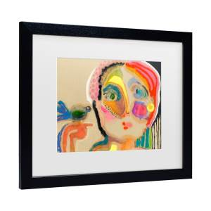 Wyanne 'The Talker' Matted Framed Art