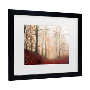 Leif Londal 'Waiting For The Deer' Matted Framed