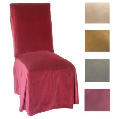 Parson Chair Covers Walmart Silver Sashes Classic Slipcovers Microsuede Parsons Slipcover Set