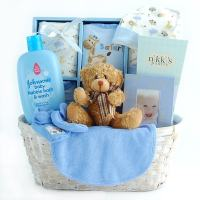 Shop New Arrival Baby Boy Gift Basket - Free Shipping ...