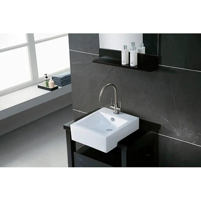 overstock kitchen sinks whirlpool appliance package citadel white apron-front lavatory sink - 10719643 ...