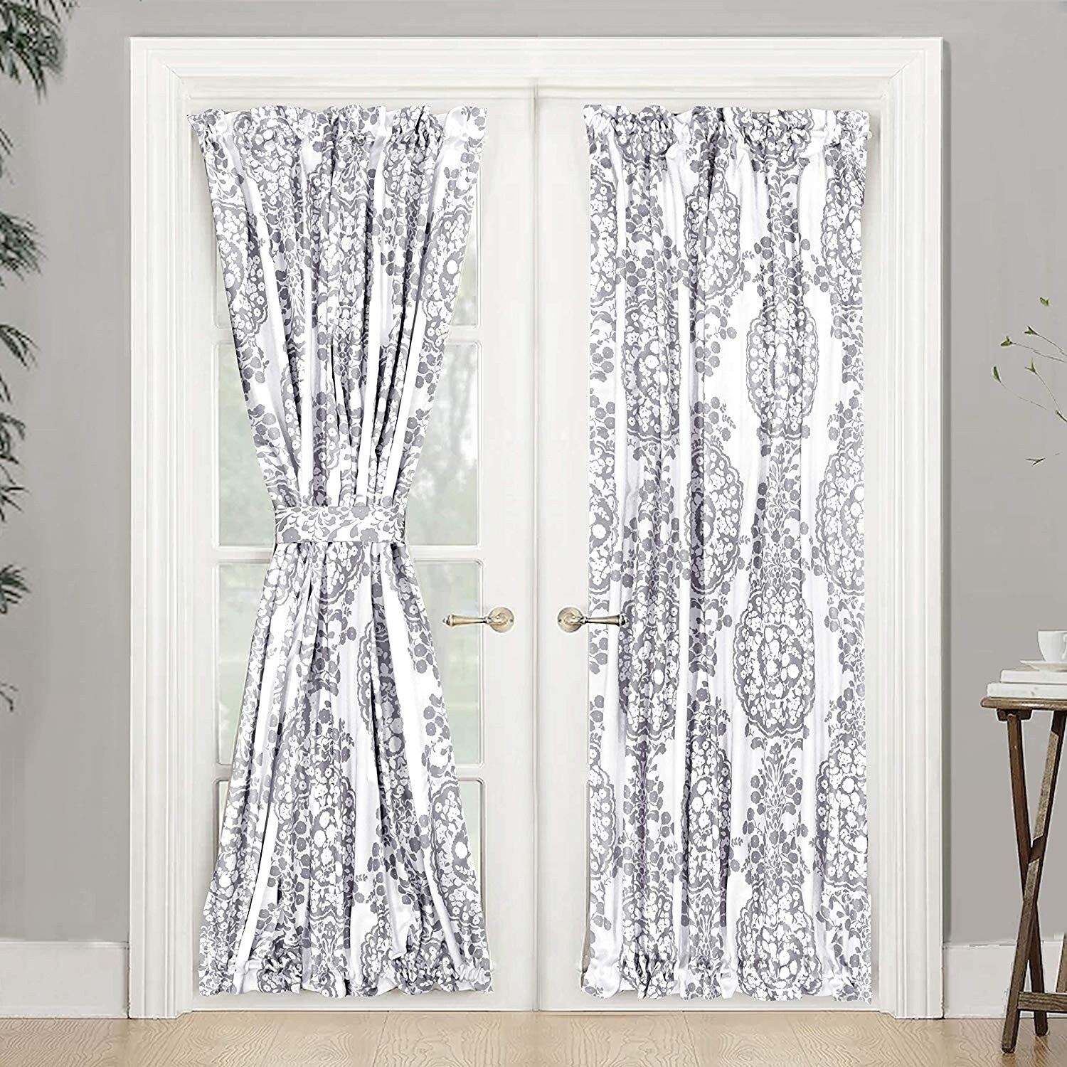 the curated nomad alameda room darkening french door single curtain panel