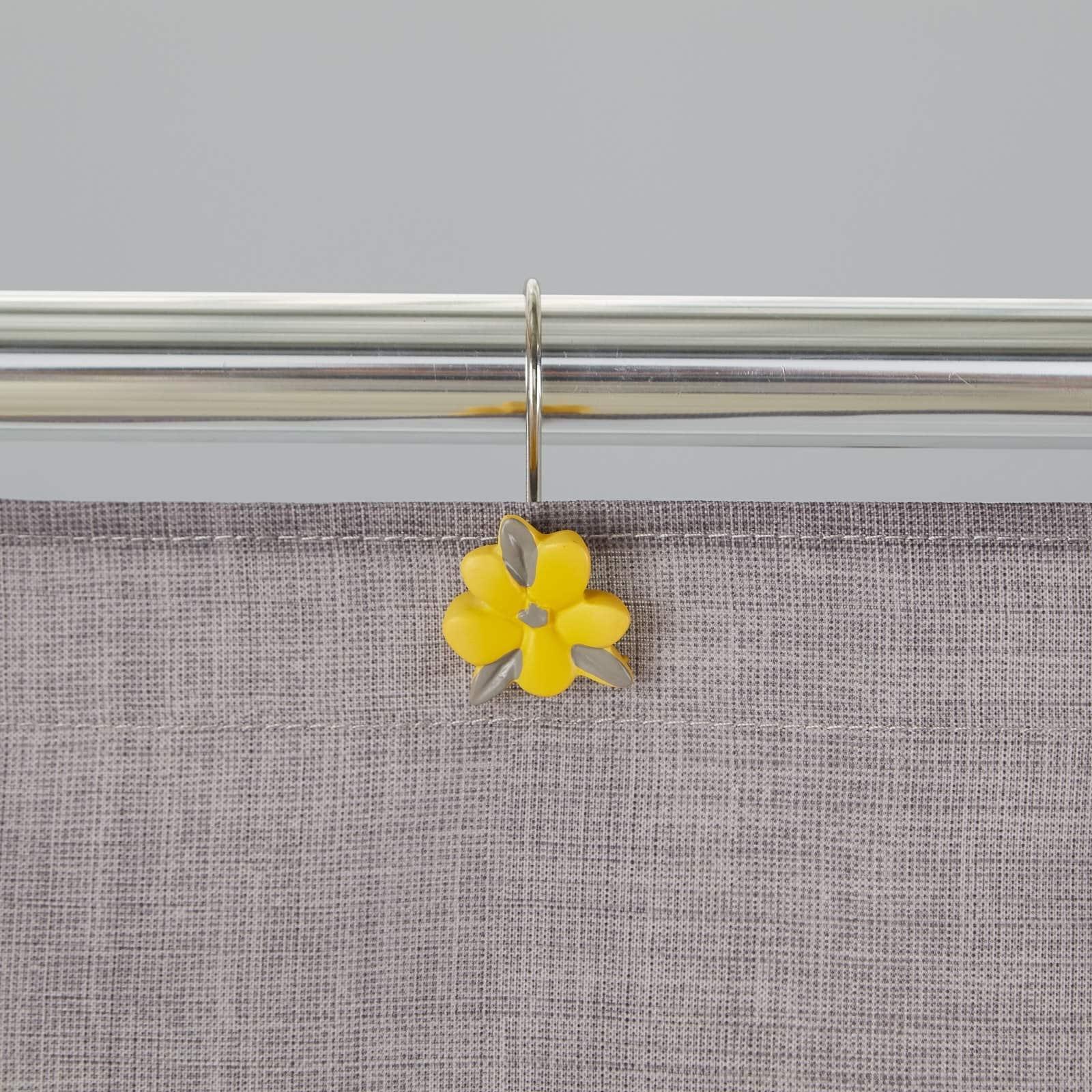 Skl Home Spring Garden Shower Curtain Hooks