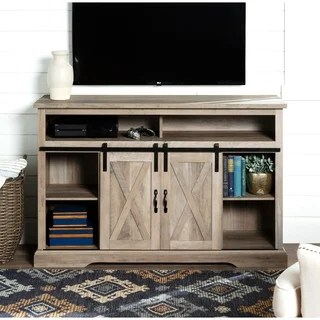 tv stand living room fountain buy stands online at overstock com our best 52 highboy sliding barn door console x 16