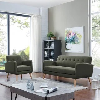 grey living room furniture set decorating ideas for big wall buy blue sets online at overstock com our handy kingston mid century modern sofa and arm chair