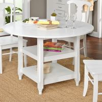 Shop Simple Living Cottage White Round Dining Table - Free ...