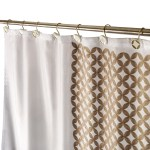 Diamond Lattice Shower Curtain With Free Peva Liner 72 X 72 Inch