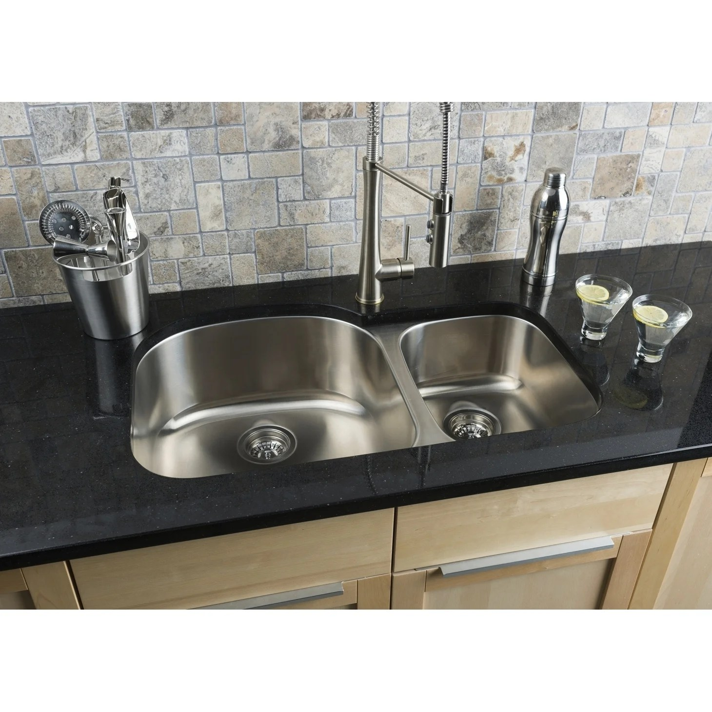 hahn 70 30 stainless steel sink 18 gauge
