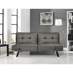 Serta Bonded Leather Convertible Sofa Small Sleeper Sectional With Chaise Shop Dorian Faux Free Shipping