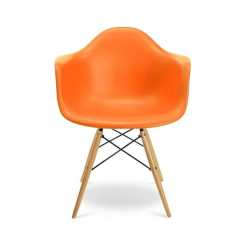 Orange Bucket Chair Ashley Furniture Leather Shop Hcd Kids Free Shipping Today Overstock