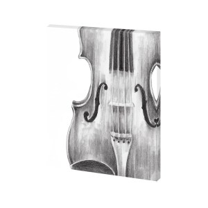 Mercana 'String Instrument Study I' Made to Order Canvas Wall Art