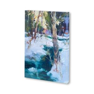 Mercana 'Last Snow Sierras' Made to Order Canvas Wall Art
