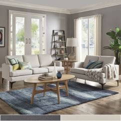 White Sofa Living Room Apartment Office Ideas Buy Sofas Couches Online At Overstock Com Our Best Fenn Square Arm Seating By Inspire Q Modern