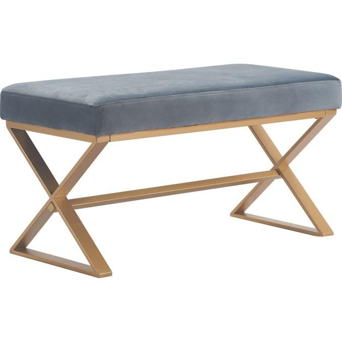 Elle Decor Aveline Upholstered Bench