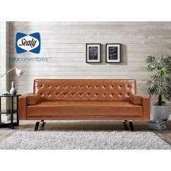 Sofa Convertibles Leather Reclining Ratings Shop 5th Avenue Convertible By Sealy Free Shipping Today