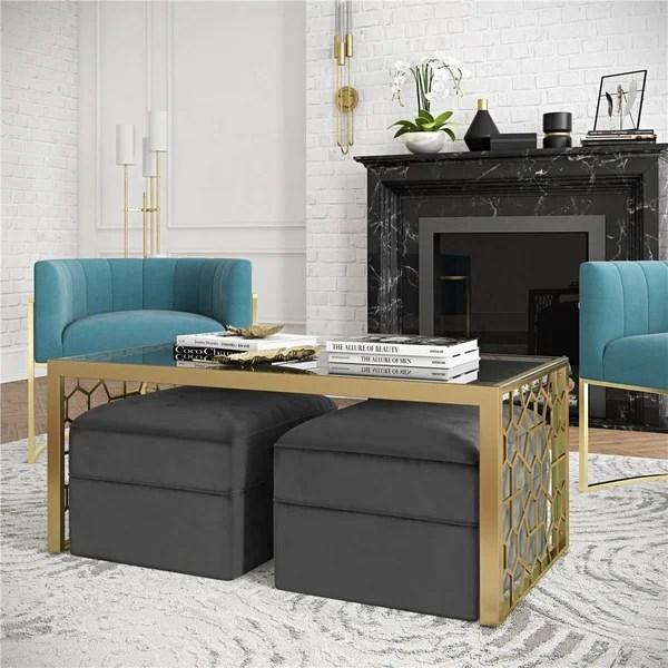 by cosmopolitan juliette coffee table