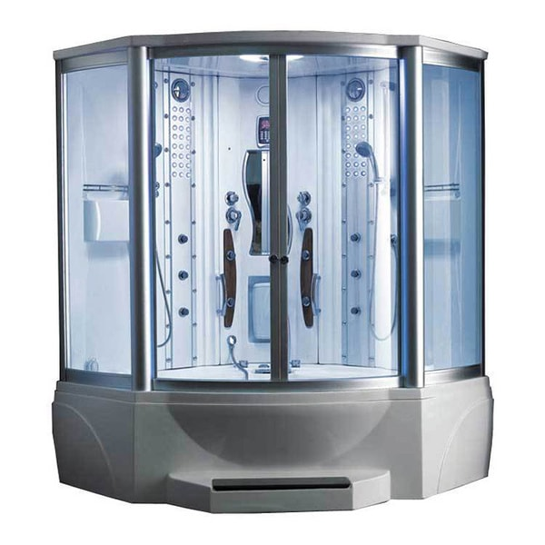 608 Steam Shower With Whirlpool Tub 10819299 Shopping Great Deals On Ariel