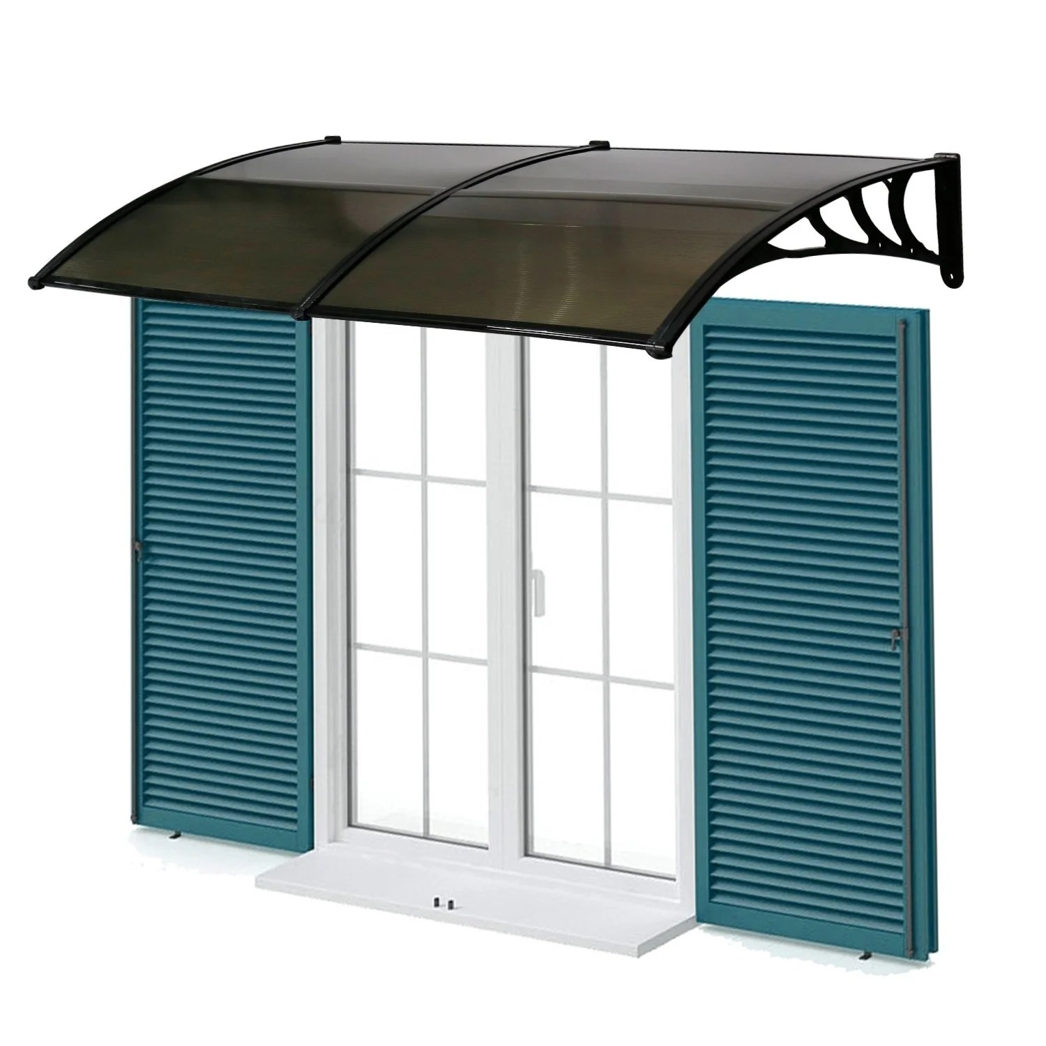 bor roofing shop kinbor 80 x 40 window awning front door canopy polycarbonate
