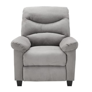 recliner chairs cheap wingback chair with nailheads buy modern contemporary rocking recliners online cushion back pushback grey