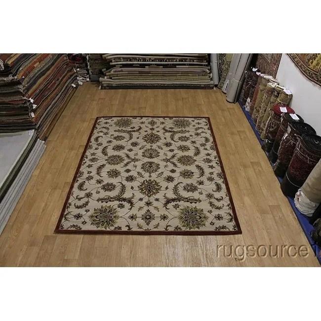 "Hand-tufted Wool Tabriz Agra Nourison Oriental Geometric Area Rug - 10'0"" x 8'0"""