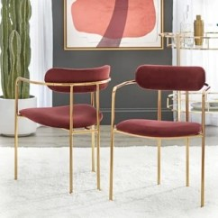 Gold Dining Chairs Eno Hanging Chair Buy Finish Kitchen Room Online At Overstock Com Simple Living Healey Set Of 2