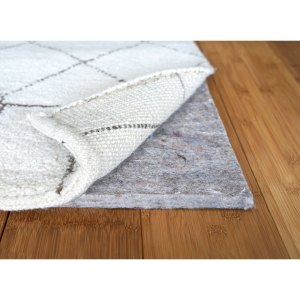 1/2 inch Superior Felt Rug Pad for Hardwood Floors Non Slip on Tile and Vinyl