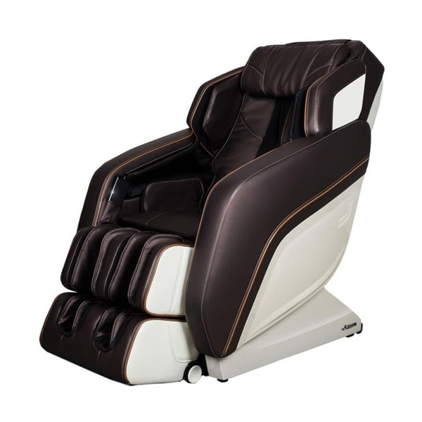 the best massage chair queen anne recliner shop 2d sl shape zero gravity brown free shipping today overstock com 26441147