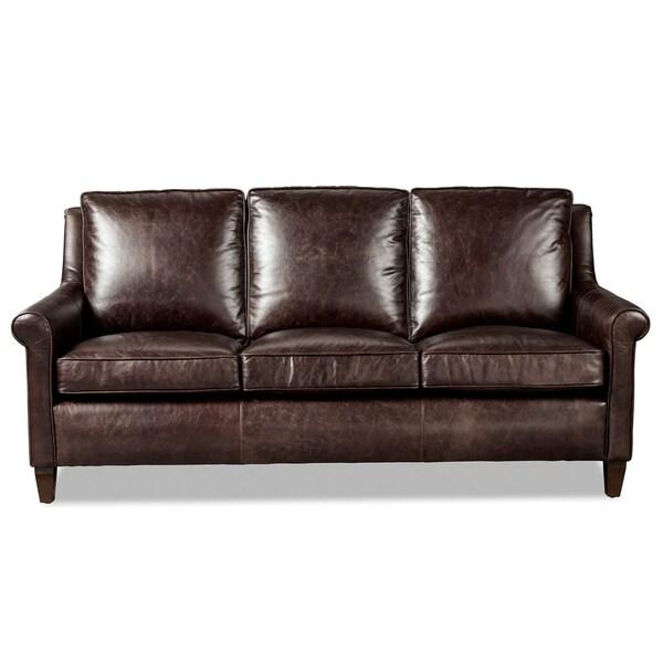 jericho dark brown leather