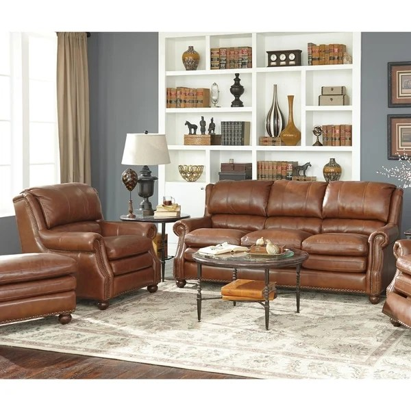 modern leather living room sets wood tiles design shop oliver two piece brown sofa and chair set on sale free shipping today overstock com 26451521