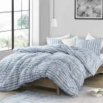 Porch Den Alton Aura Blue Super Soft Microfiber Oversized Comforter Set Overstock 27070107