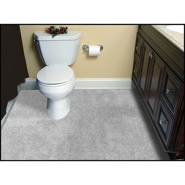 Shop Room Size 5 X 6 Washable Bathroom Carpet On Sale Overstock 27189296 Platinum