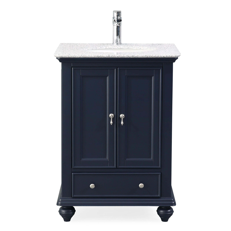 Shop 25 Tennant Brand Gillian Powder Room Navy Blue Bathroom Vanity On Sale Overstock 27193451