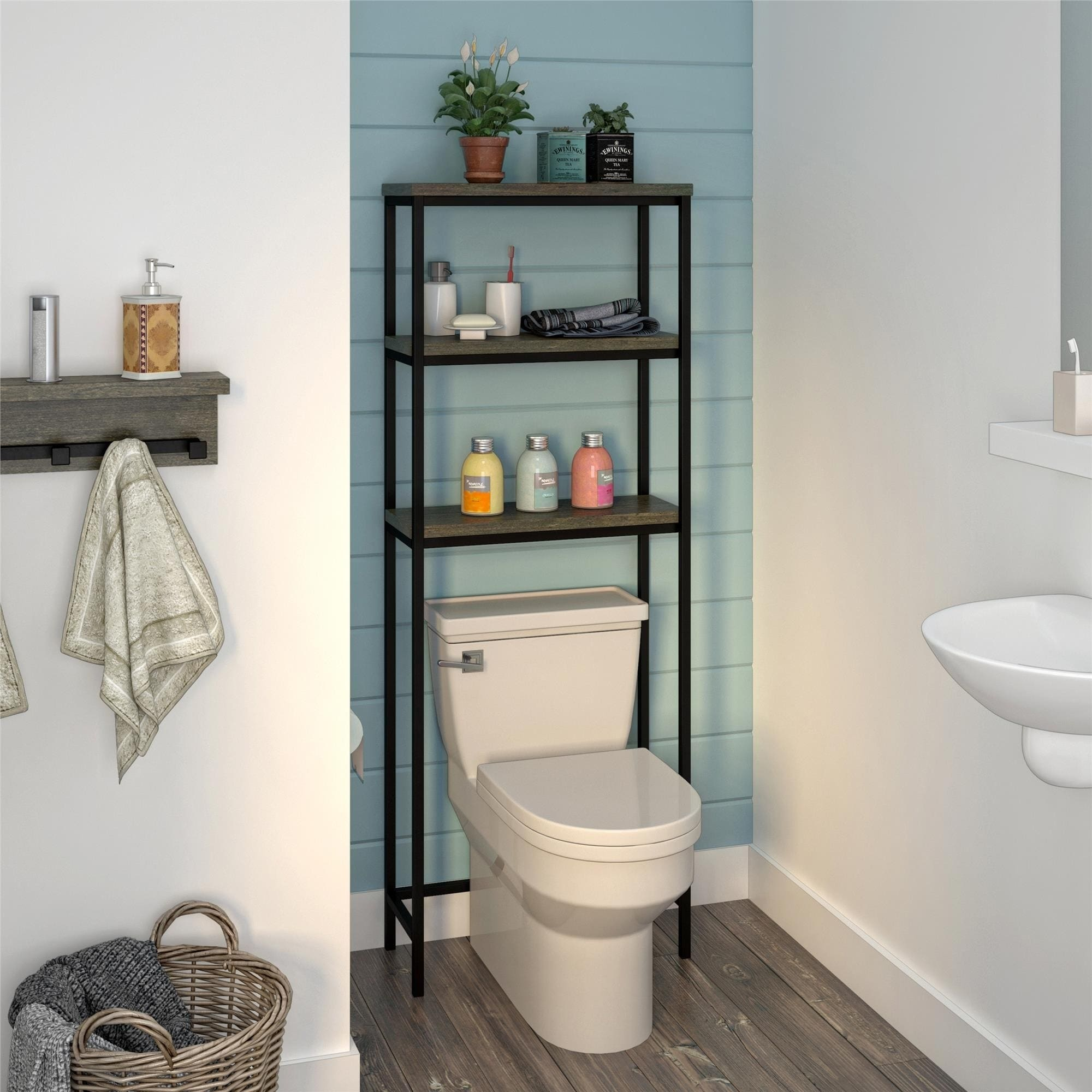 Shop Avenue Greene Terrace Over The Toilet Storage On Sale Overstock 27426479