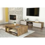 Carbon Loft Anagonye Laminate 2 Piece Tv Stand And Coffee Table Set On Sale Overstock 27635567
