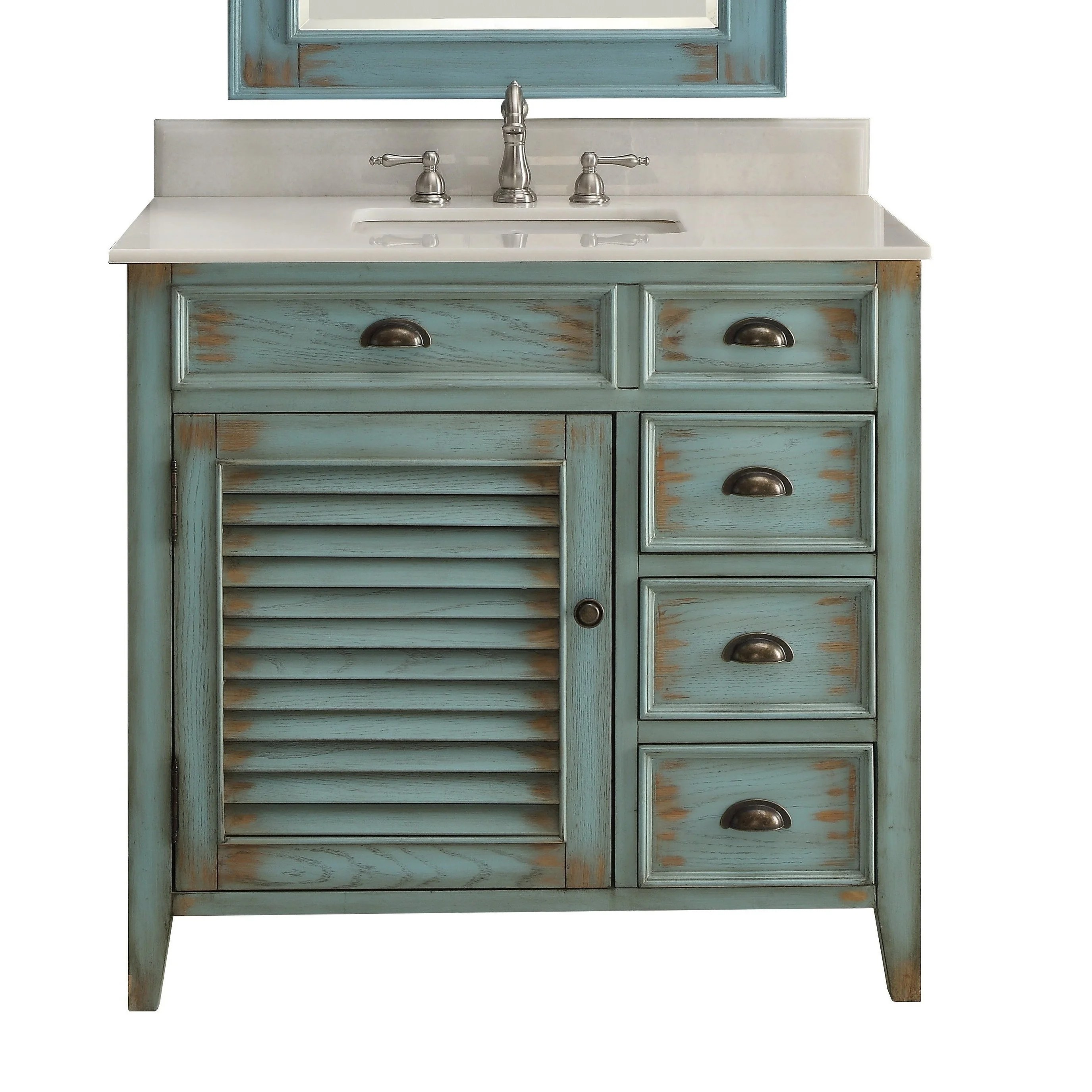 benton collection abbeville 36 inch farmhouse rustic bathroom vanity
