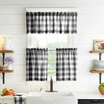 The Gray Barn Emily Gulch Buffalo Check Kitchen Window Valance 60 W X15 L On Sale Overstock 28108776